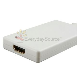 Mini DisplayPort Video USB Audio to HDMI Cable Adapter