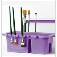 Donna Dewberry One Stroke Painting Brush Holder Caddy