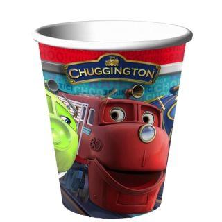 Party Supplies Chuggington Party 9oz Paper Hot Cold Cups 8 Ct