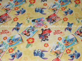 Brand New Disney Lilo Stitch Gift Wrapping Paper