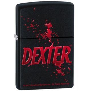Dexter Logo Showtime TV Show Black Matte Zippo Lighter