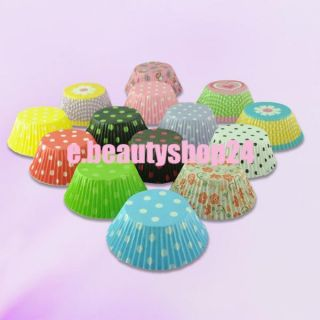 Colors 120pcs Cupcake Muffin Baking Paper Cups Liners Cases