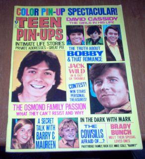 Magazine 1971 David Cassidy Bobby Sherman Susan Dey Osmonds Cowsill
