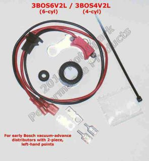 Ignition Conversion Kit for Early Bosch 2 Piece Points Distributors
