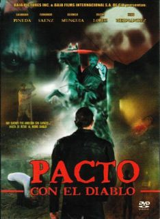 Pacto Con El Diablo DVD New Salvador Pineda Factory SEALED
