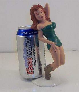 Ganz Sexy Girl R DEMARS Bottoms Up Beer Soda Pop Can Holder