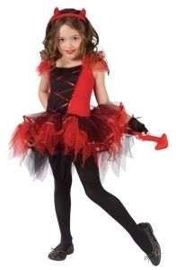 Toddler Devilina Cute Devil Halloween Costume Fancy Dress Up