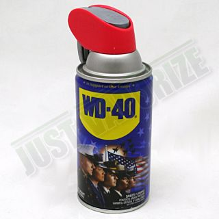 WD 40 Can Diversion Safe Stash Case Hidden Secret Fake Pop Security