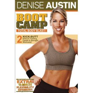 Denise Austin Boot Camp Total Body Blast DVD 2006 New