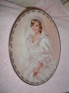 Diana Queen of Our Hearts Plate 1 Peoples Princess