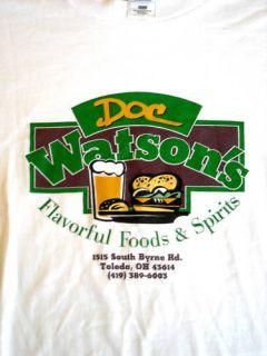 Doc Watson's Bar Grill T Shirt XXXXL Toledo Ohio 4X