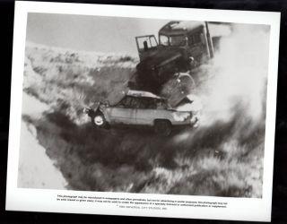 Duel Dennis Weaver Peterbilt Tanker Truck RARE 8 x 10