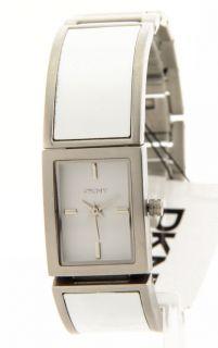 DKNY Stainless Steel Ceramic Bracelet Casual Womens NY8239 Watch New
