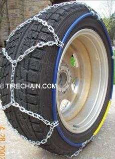 Truck or SUV Tire Chains Fits 285 75R16LT 33x13 50 16 275 70R18LT P275