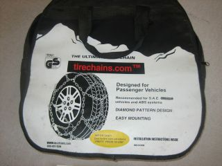 Diamond Tire Chains for P245 70R 16 Tires 2000 Jeep Grand Cherokee