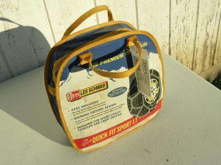 Quick Fit Les Schwab Diamond Tire Chains 2324 S 31 10 50R15 275 70R16
