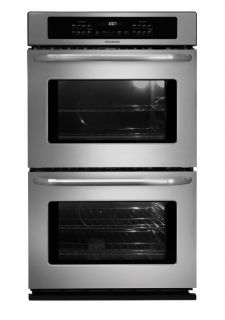 New Scratch Dent 30 Stainless Steel Double Wall Oven