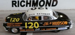 120 Hudson Hornet Dick Rathman 1953 1 24th Scale Custom Built Slot Car