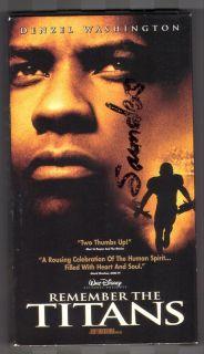 Remember The Titans VHS 2001 Denzel Washington 786936145854