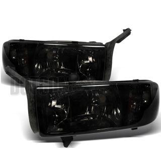 dodge ram 1500 2500 3500 smoke tint headlights lamps