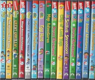 Dora The Explorer & Diego 5 DVDs Movies Lot You Pick The Titles Kids