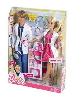 Dolls Barbie I Can Be Doctors Barbie Ken Doctor Dolls Patient New