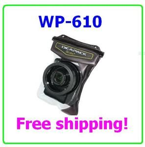 DiCAPac WP 610 Waterproof case For Sony Olympus Canon Nikon Panasonic