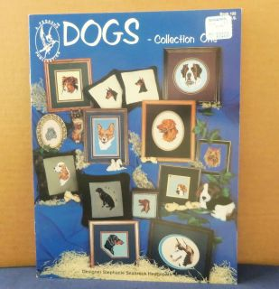 Dogs Counted Cross Stitch Pattern Book No 102