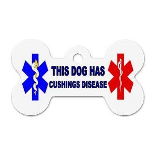 Cushings Disease Medical Alert Pet Puppies Dog ID Tag