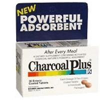 charcoal plus dietary supplement tablets 36 ea
