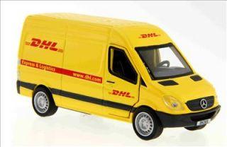 Dickie DHL Mercedes Benz Sprinter Delivery Van Diecast