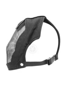 Black Bear Airsoft Rampage Steel Mesh Full Face Mask 1000D
