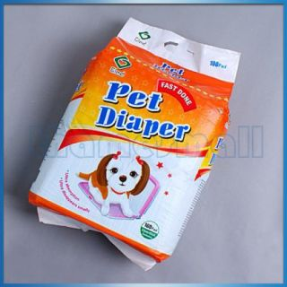 Pet Dog Puppy Travel Disposable Training Wee Wee Chux Pad Diaper