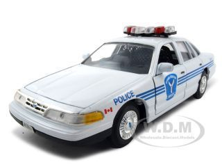 Ford Crown Victoria Ottawa Police 1 24 Diecast Model