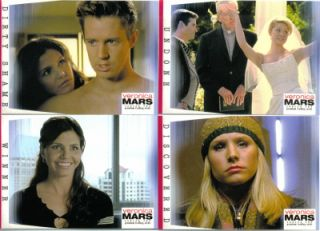 This is a complete set of VERONICA MARS SEASON TWO COLLECTOR CARDS