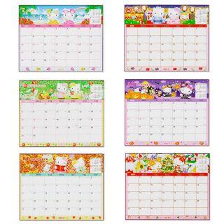 2013 Hello Kitty w Mimmy Desk Calendar Plan 19 x 15 cm 7 5 x 5 9 w