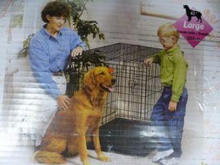 Single Door Folding Dog Crate Large Free Illinois Pick Up