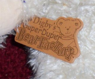 this bunny was made at digby s super duper bear factory at boyds bear