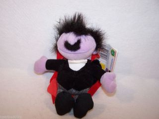 1997 Sesame Street Mumford 8 Plush Doll Toy
