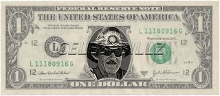 Richard Petty Dollar Bill Mint Real $$ Celebrity Novelty Collectible