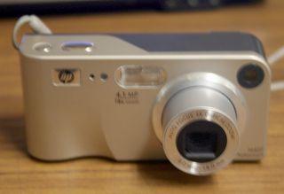 M407 4.1MP 18X DIGITAL 3X OPTICAL ZOOM DIGITAL CAMERA (SILVER
