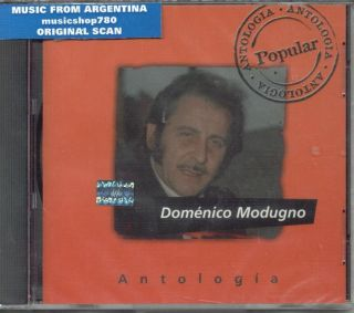 domenico modugno antologia factory sealed cd