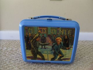 Plastic Lunchbox Lunch Box and Thermos 1984 Dino de Laurentis