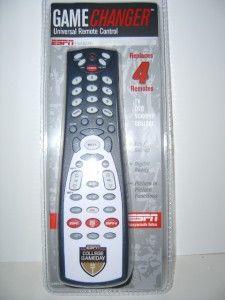espn gameday universal 4 device remote control
