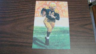 1991 Don Hutson Goal Line Art Card Green Bay Packers