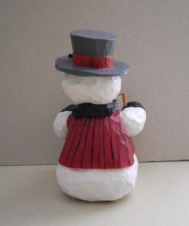 Enesco Don Martin Inc Singing Snowman Winter Holiday Figurine