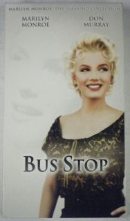 Bus Stop VHS Marilyn Monroe Don Murray 20th Century Fox 1956