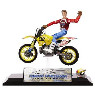 Travis Pastrana MXS Collector Series Dirt Bike Toy