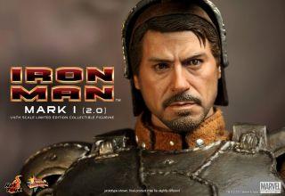 Ironman Mark I One Version 2 0 2 Two Tony Stark LED 1 6 Classic