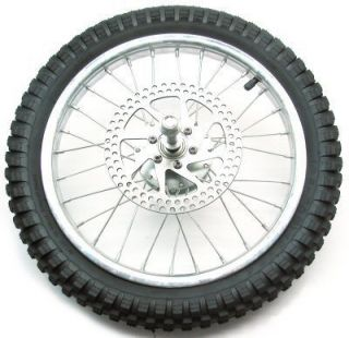 Razor Dirt Rocket MX500 MX650 Front Tire Wheel Assembly